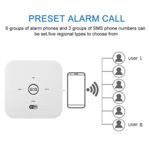 عملکرد تماس تلفنی دزدگیر هوشمند تویا
