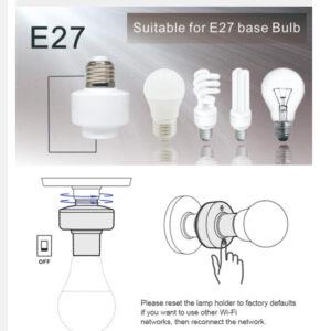 روش نصب و راه اندازی سرپیچ ساناف E27